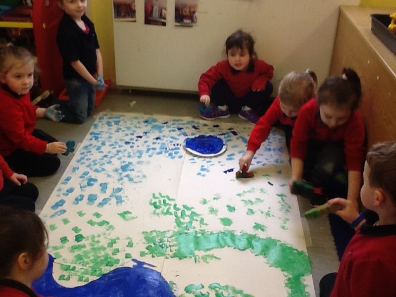 We are making a big Spring Picture.